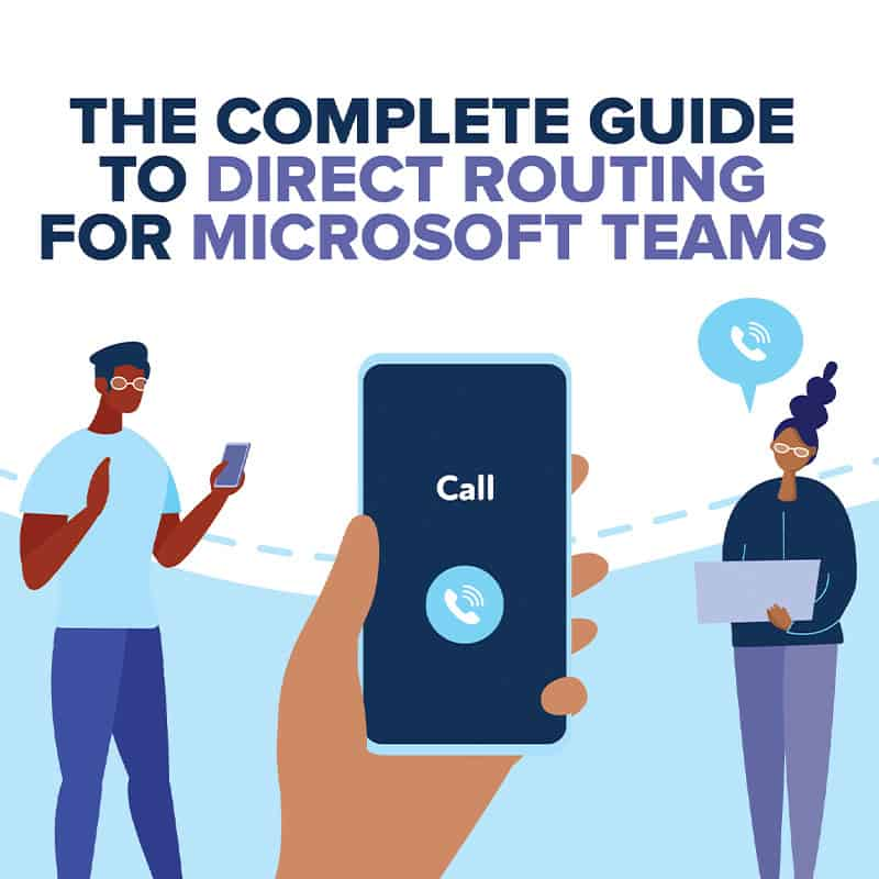 microsoft teams direct routing ebook cover